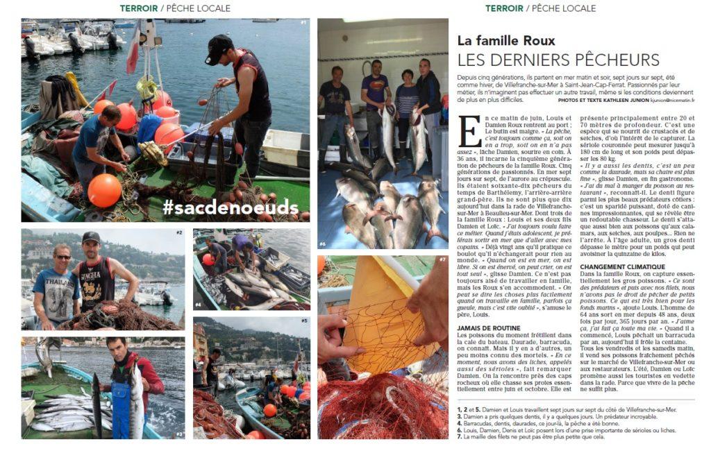 Les derniers pêcheurs de Villefranche-sur-Mer