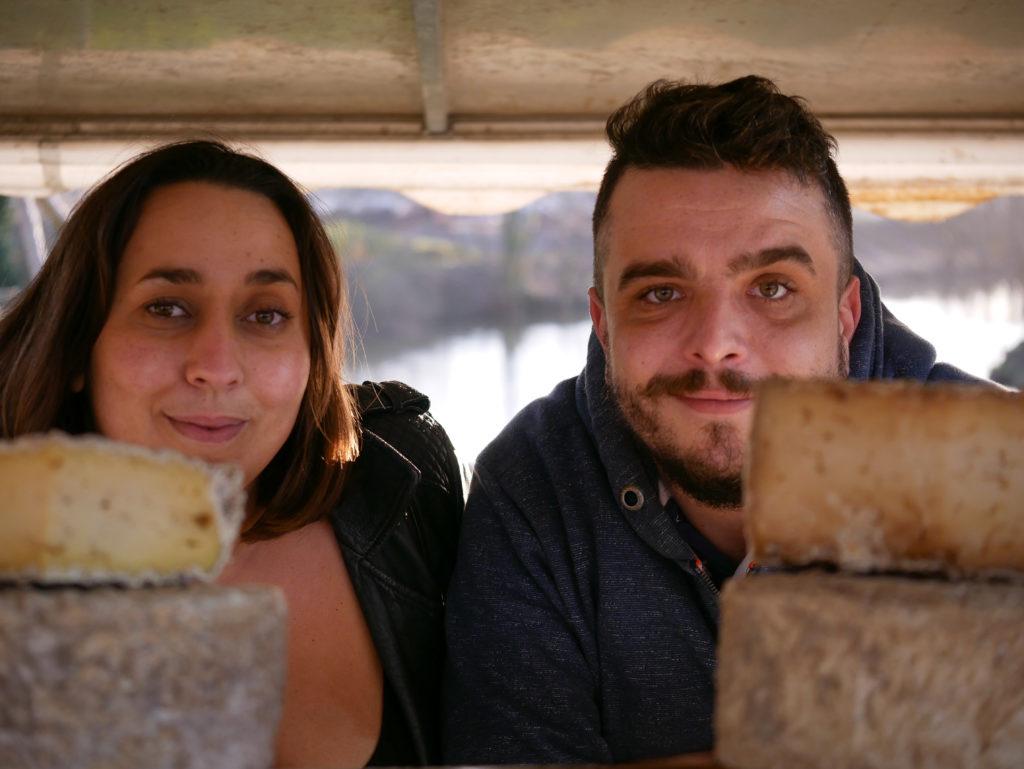 Vanessa et Antoine, sur leur stand de la Garden Partie, à la Plaine de Baud, à Rennes.