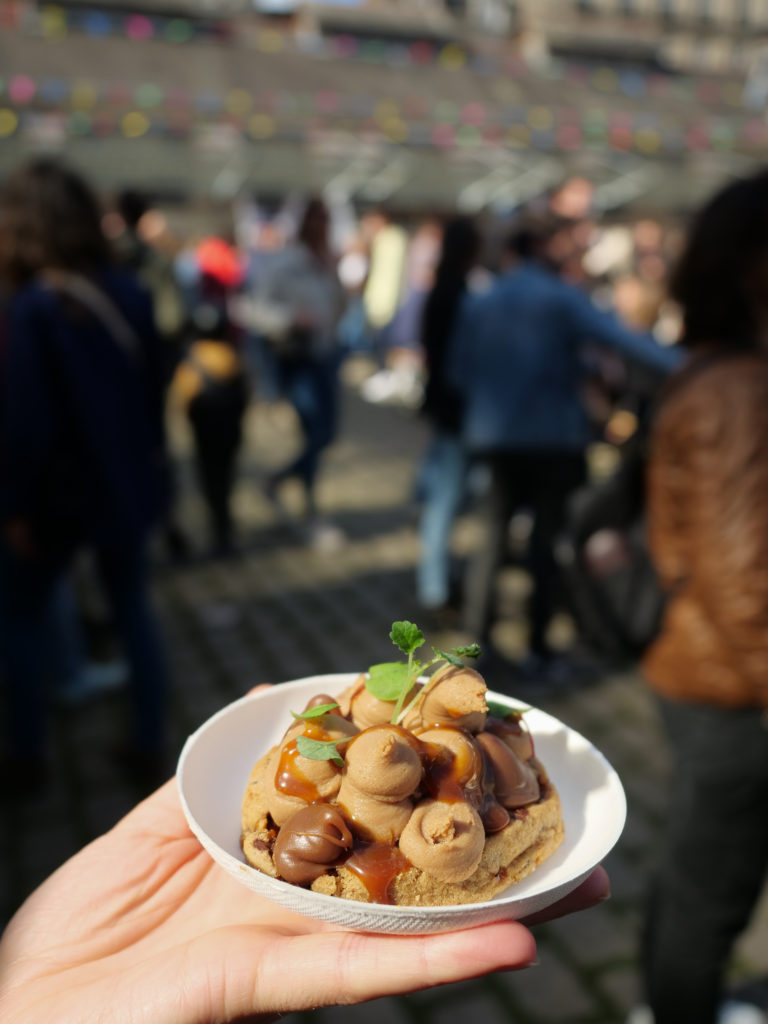 Marché à manger : evenement rassemblant chefs et gourmands tous les premiers dimanches du mois à Rennes